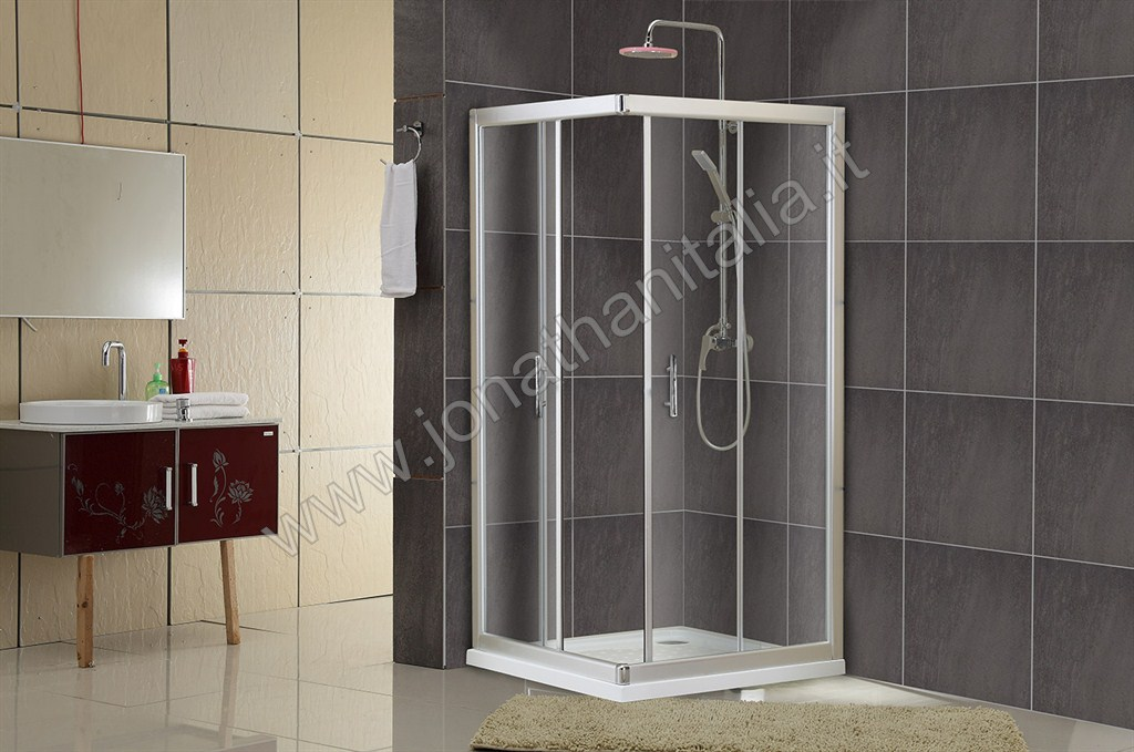 Shower Enclosures Tempered Crystal Shower Enclosures Basic Se