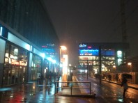 It was unseasonably cold and wet that night, but the wonderful energy of Berlin was still apparent; it would be a great city in which to live.