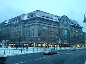"The Kaufhaus des Westens (""Department Store of the West""), a.k.a. KaDeWe, second only to Harrods in London in size in Europe. Each floor specializes in a different product; two are entirely devoted to food."