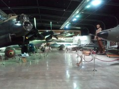The entrance to the Aviation Display Hall at MOTAT. Aircraft, baby!