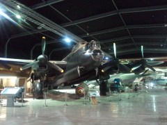 The MOTAT's Avro Lancaster MK VII, a British WWII heavy bomber.