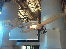 The Powerhouse Museum's 1914 Bleriot monoplane. This particular plane was the first to deliver airmail in Australia.