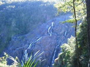 There were two transfer stations in the Skyrail trip; the first was at Barron Falls. This was from its eastern edge; I had seen the falls from the west side on the way up via the Kuranda Scenic Railway.