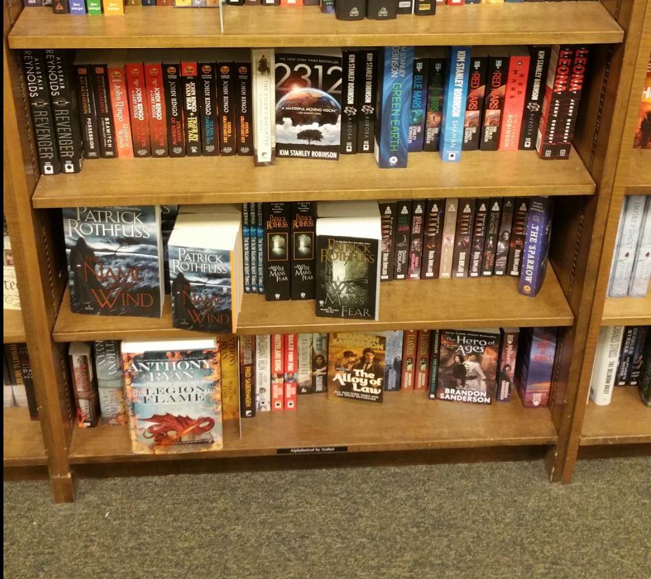 Books On A Shelf Jonathan Moeller Pulp Writer
