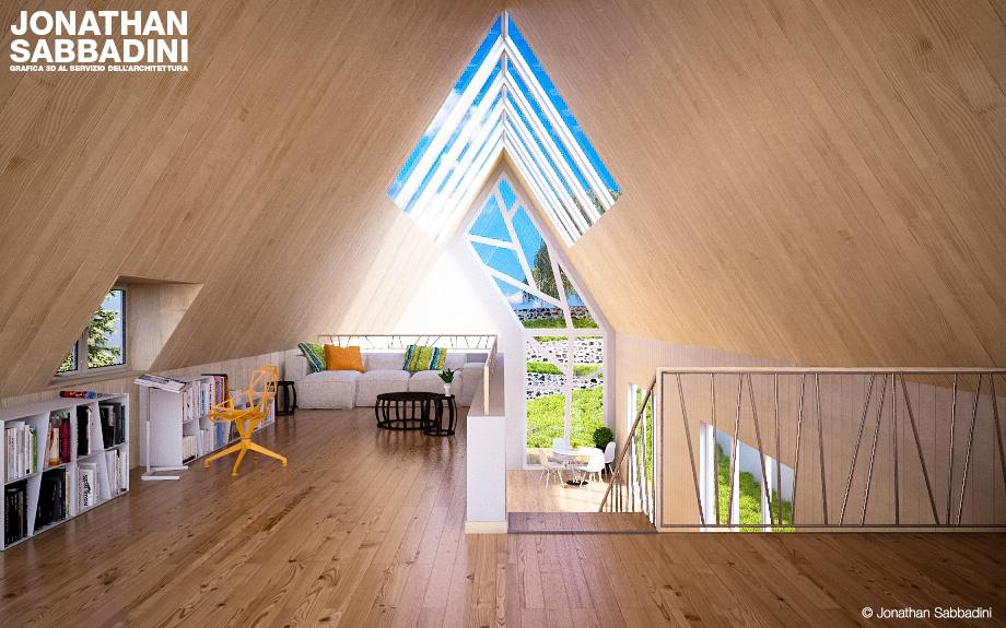 La casa, il legno e l'albero.