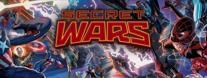Secret Wars header