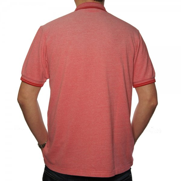 Buy Fred Perry Twin Tipped Polo Shirt Red Oxford|Fred Perry Jon Barrie