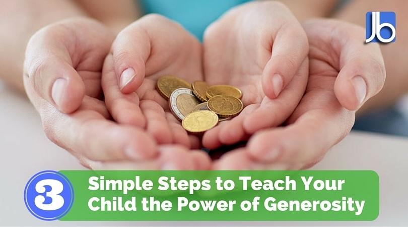 Teach Your Child Generosity