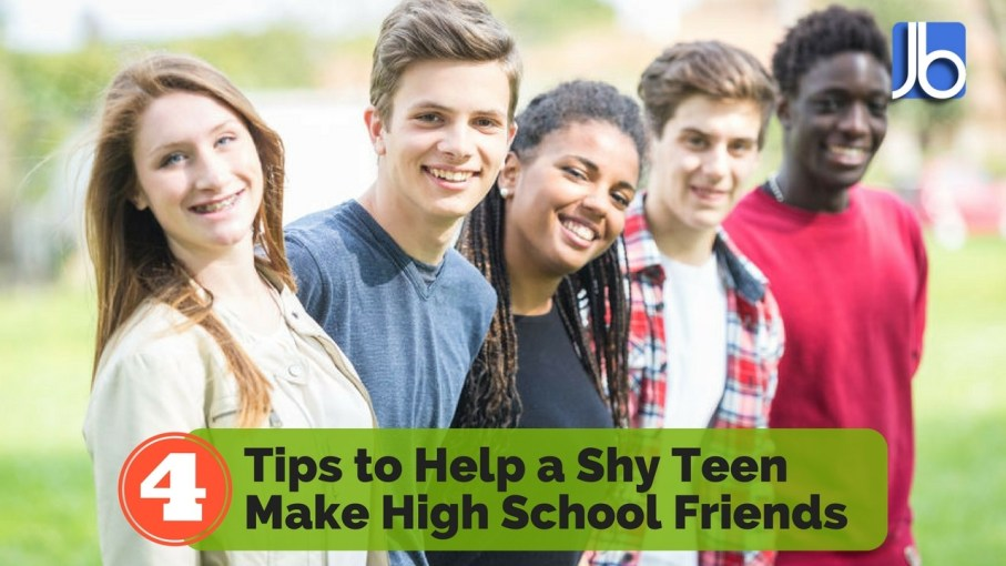 Tips to Help a Shy Teen Make High School Friends
