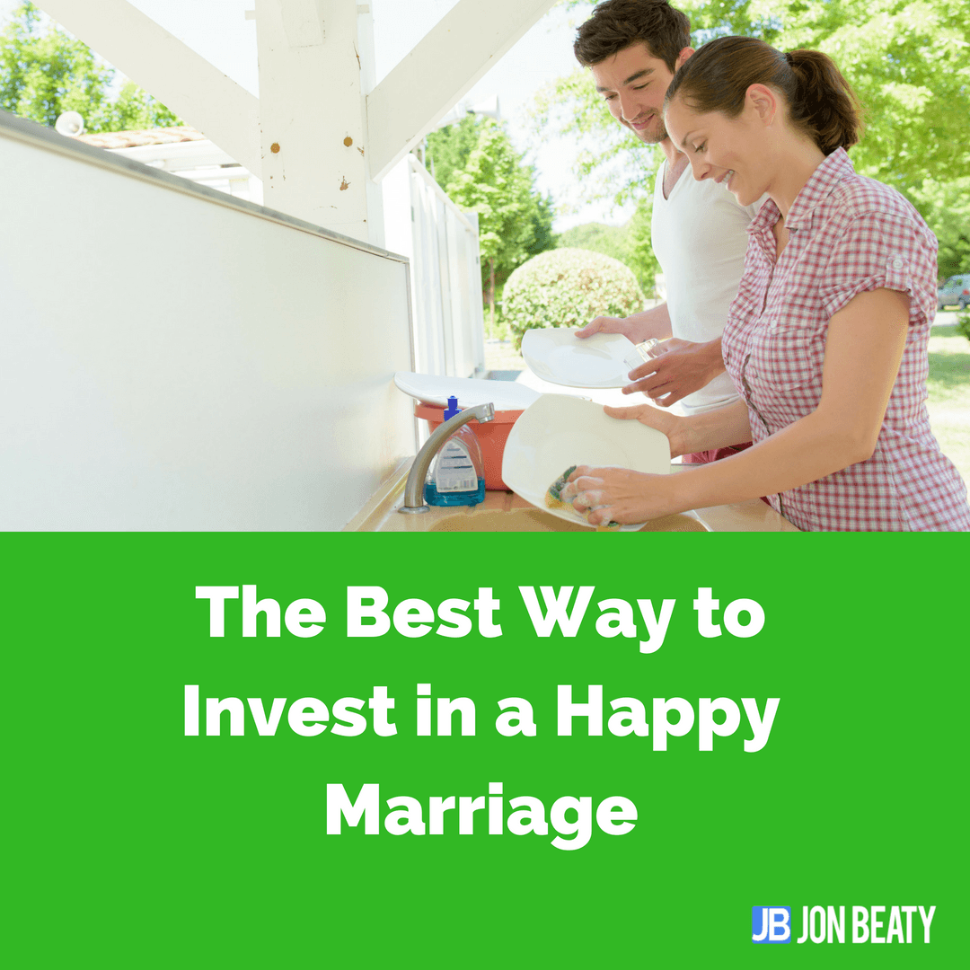 The Best Way to Invest in a Happy Marriage