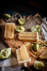 Lime Honey and Lemongrass Popsicles 2