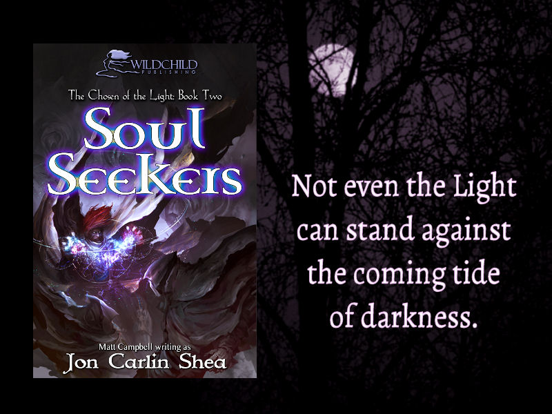 cover reveal of Soul Seekers, book two of Chosen of the Light epic fantasy series