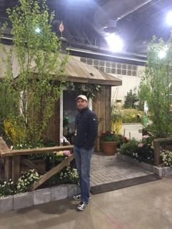 Jon Carloftis at the Flower Show