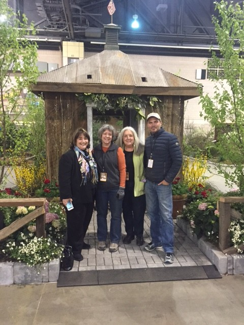Jon Carloftis and America in Bloom at the Flower Show