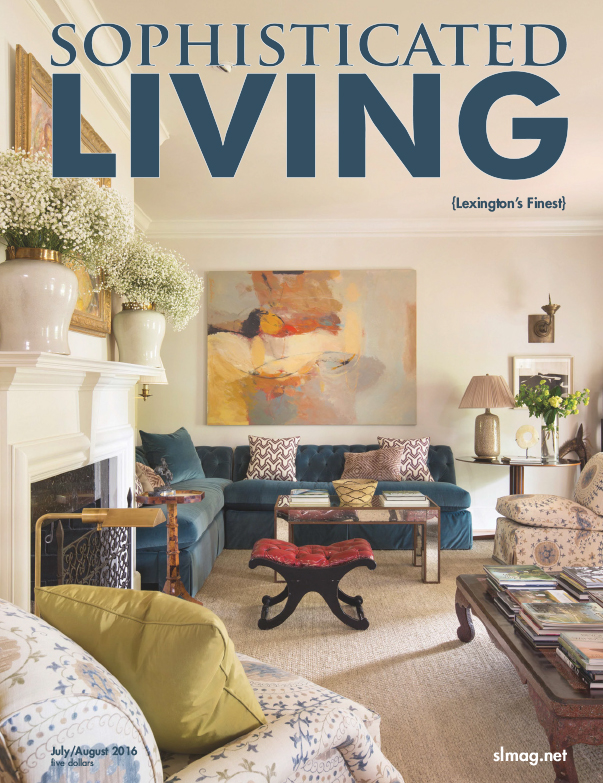 Our Project In Ashland Park Is In The July Issue Of Sophisticated Living