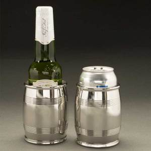 "Asa Pewter 4"" Slim Barrel Beaker (14 Oz.)"