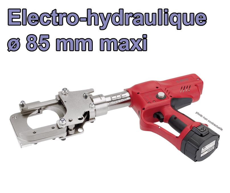 cisaille coupe cable electro hydraulique o 85 mm cimco 105710