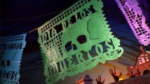 "The second title card for ""Dia de Los Muertos"""