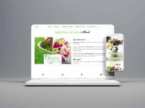 refonte-site-internet-fleuriste-Vegetal-fleurs-jardins-agence-communication-marseille
