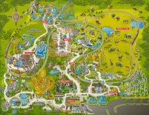 Busch Gardens Map