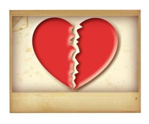 Image of a Broken Heart for Divorce Article Jones Myers Blog
