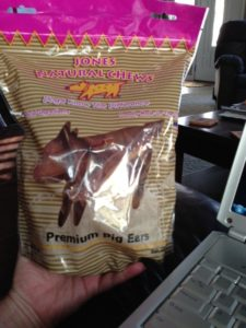 Pig ear for dogs - are they safe?