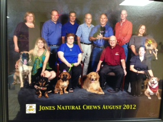 Jones and dogs go together naturally