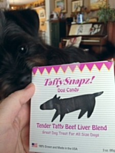 Beef Liver Taffy Snapz from Jones