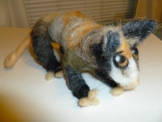 This needle felted possum from Kareens Krafts on Etsy, would make a great gift!