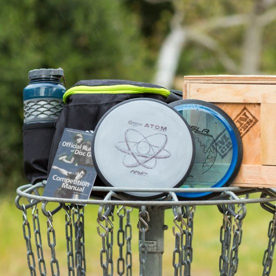 Frisbee Golf Crate for Father's Day