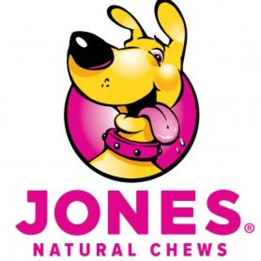 The New mascot of Jones Natural Chews - Treat your dog to happiness