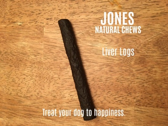 Liver Logs, the newest treat from Jones Natural Chews