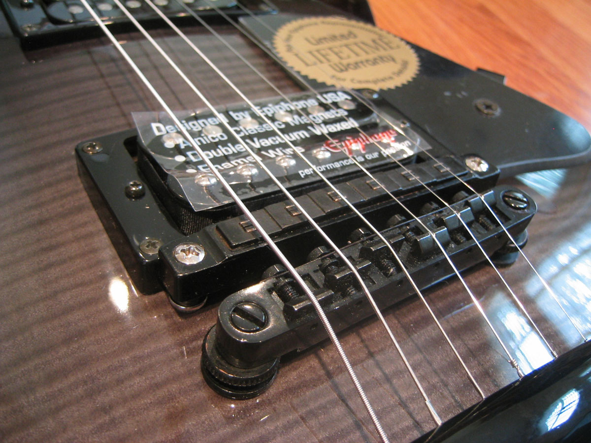 hight resolution of epiphone with roland synth output