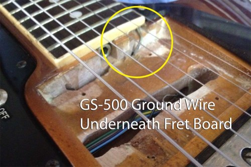 small resolution of gs 500 ground wire