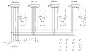 GK QuadBoard Roland GKP4 clone with user exapndability and customization Create a super US20
