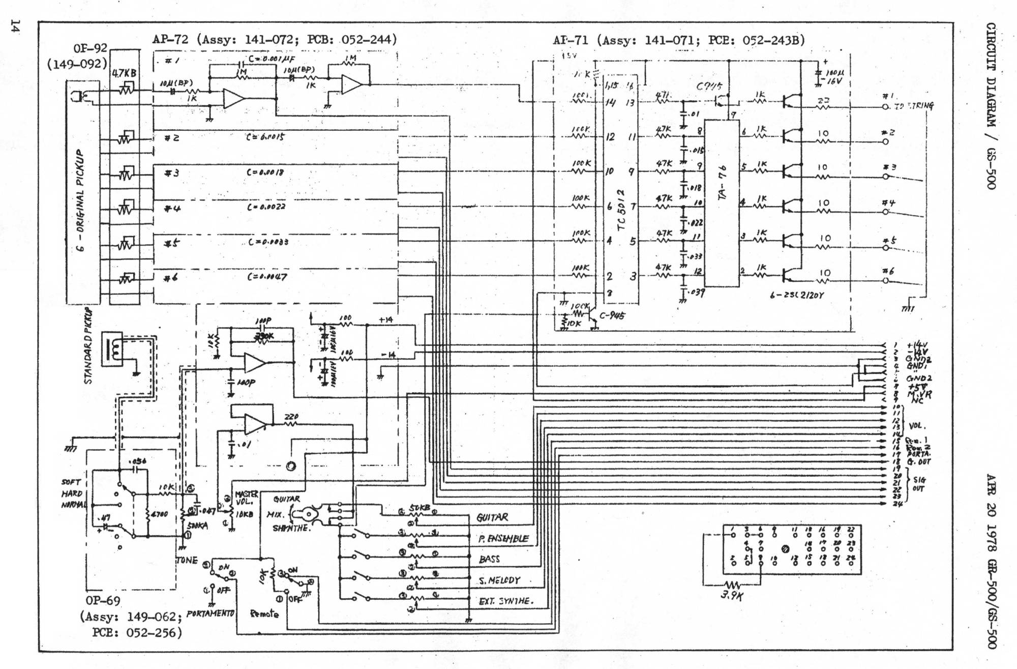 hight resolution of download the gs 500 schematic