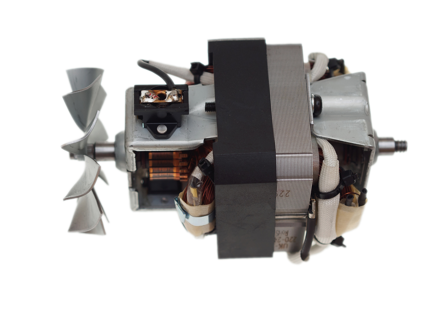 hight resolution of electric motor for vacuum cleaner
