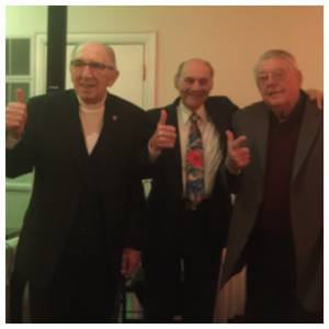 Dick Horstman, Bud Taylor and Allan Atwell