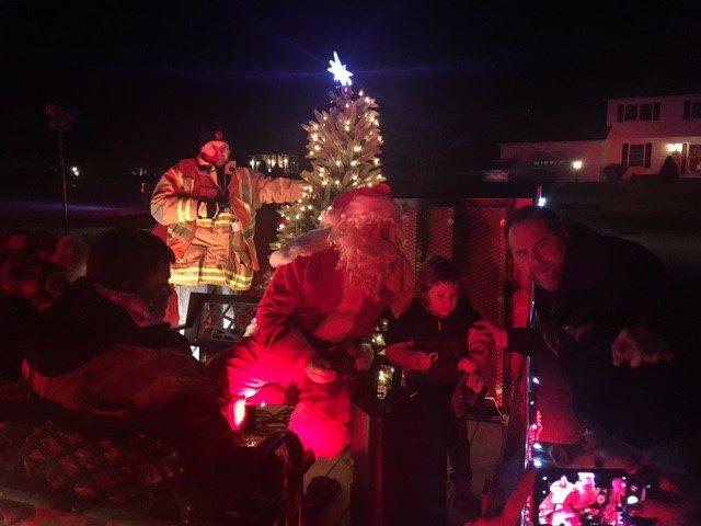 Santa Patrol Photos – Friday night