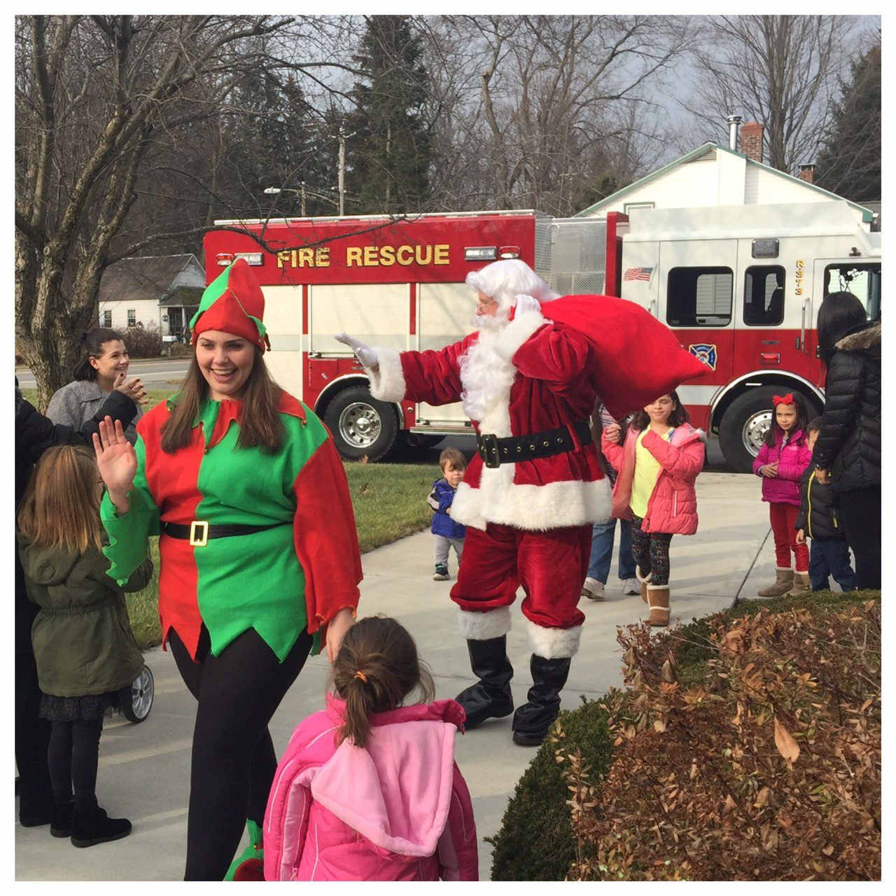 Save the Dates – Santa Patrol and Sundaes with Santa
