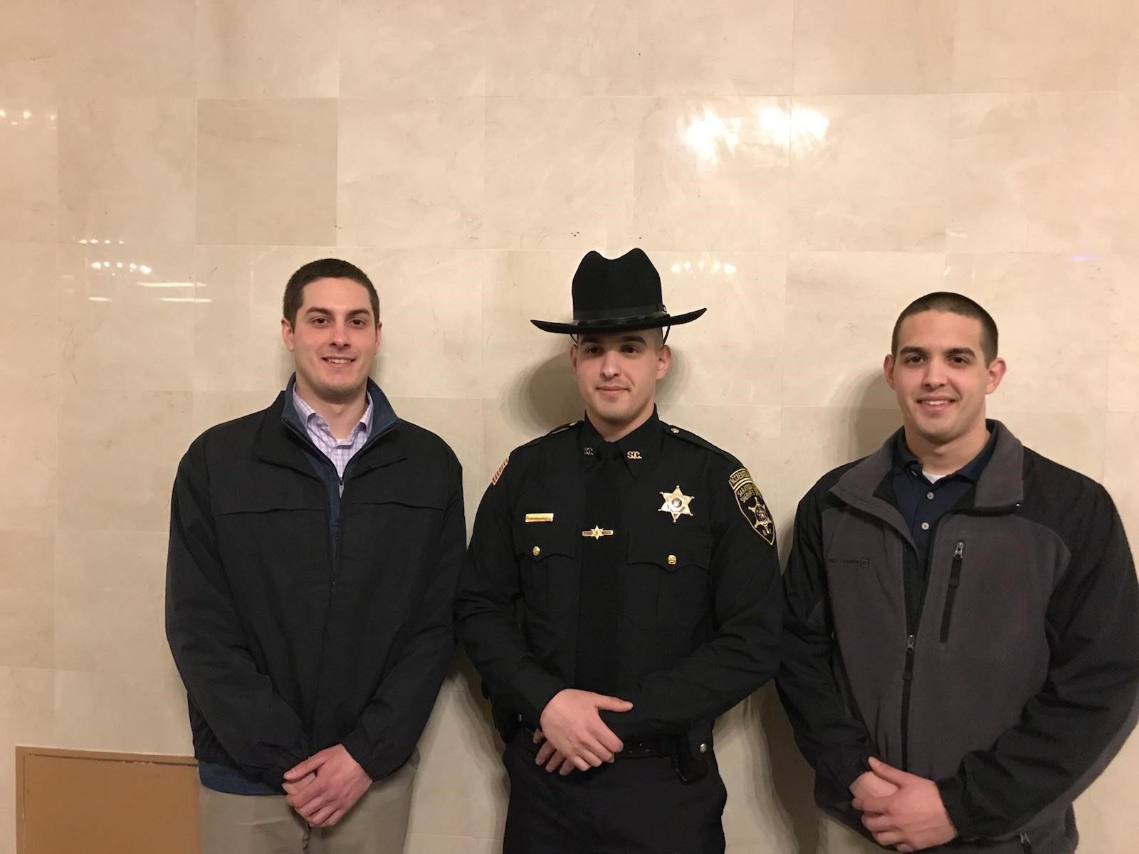 Congratulations Saratoga County Deputy Sheriff Patrick Dell'Anno