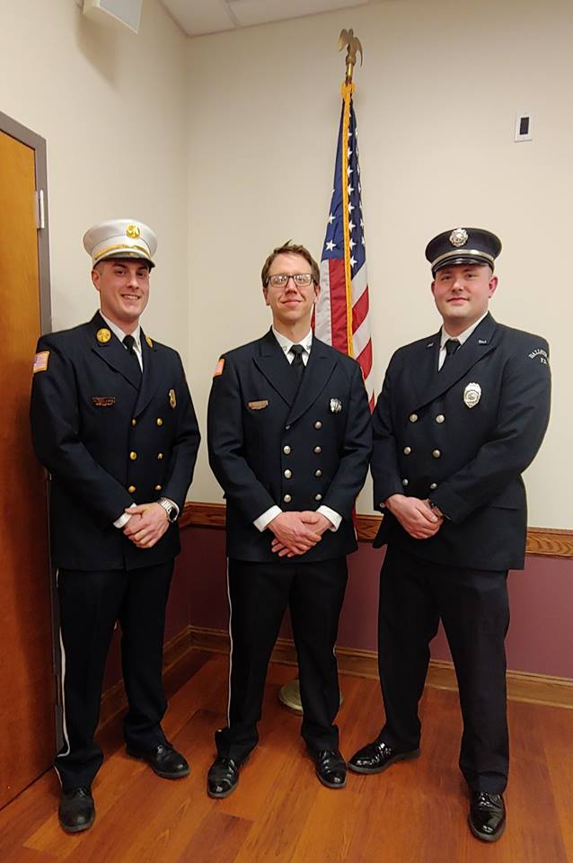 Firefighters of the Month March 2019