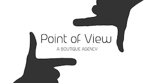Point of view: A boutique Agency - Management Logo