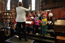 Zingen met kinderkoor Kerkuiltjes
