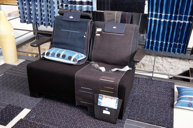 KLM World Business Class cabin interior  Jongeriuslab