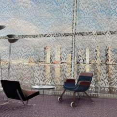 Hanging Chair Interior Sofa Covers Nz Un North Delegates' Lounge – Knots & Beads Curtain | Jongeriuslab Design Studio