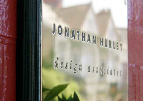 Sign for Jonathan Hurley Graphic Design Bridgend