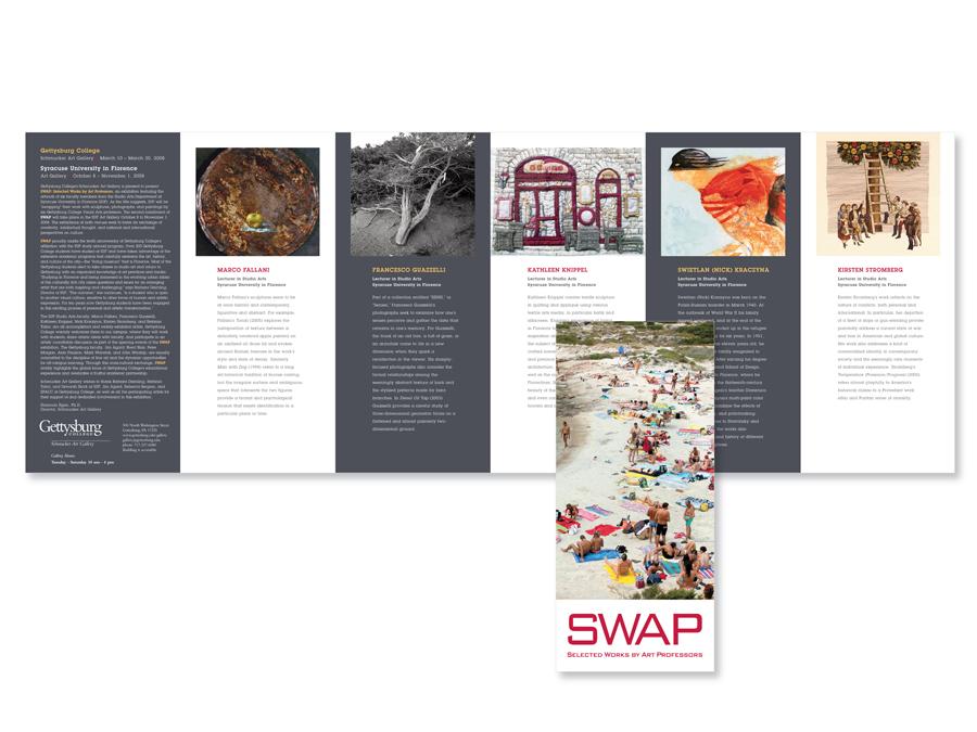 Gettysburg College Schmucker Art Gallery Brochure