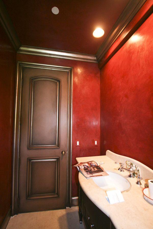 rustic kitchen cabinet floor venetian plaster