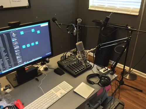 My Home Podcasting Studio